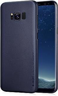 Samsung Galaxy S8 ケース memumi® 0.3㎜の スリム・薄型 指紋防止 PP Case ギャラクシーs8 ケース·カバー (ブルー)