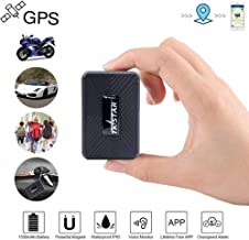 Multi-Purpose Personal GPS Tracker, Mini Magnetic GPS Tracker for Vehicles Hidden Real Time GPS Tracking Device for Car Kids Elderly Items - TK913