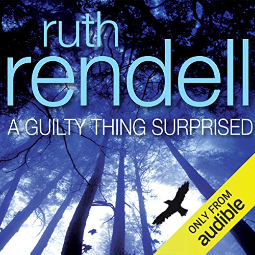 A Guilty Thing Surprised audiobook cover art