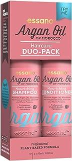 Essano Haircare Duo Pack, 2x50ml (1.6oz), Argan Shampoo, Argan Conditioner