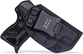 B.B.F Make IWB KYDEX Holster Fit: Ruger LCP II | Retired Navy Owned Company | Inside Waistband | Adjustable Cant | US KYDEX Made