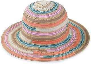 Cappello da Pescatore Donna Berretti Visiera di Spiaggia Strisce Stampare Cappello Ragazza Cappello da Sole Tinta Unita Protezione del Sole Escursionismo Campeggio in Viaggio Pesca
