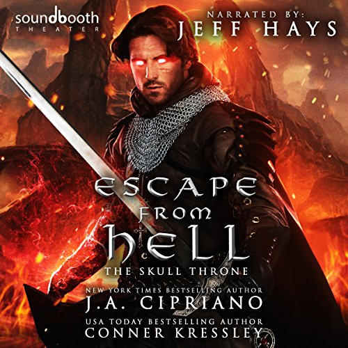 Couverture de Escape from Hell: A LITRPG Adventure