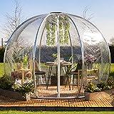astreea Igloo Iglu Model M, transparent, sehr widerstandsfähig, ideal für Terrasse und Garten, für Zuhause, Restaurant, Hotel, Camping Iglu ist ideal für alle – kostenloser Transport