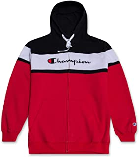 red black and white hoodie