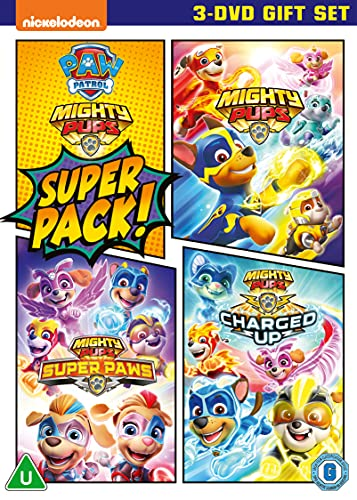 Paw Patrol - Mighty Pups Super Pack! [DVD] [2021]