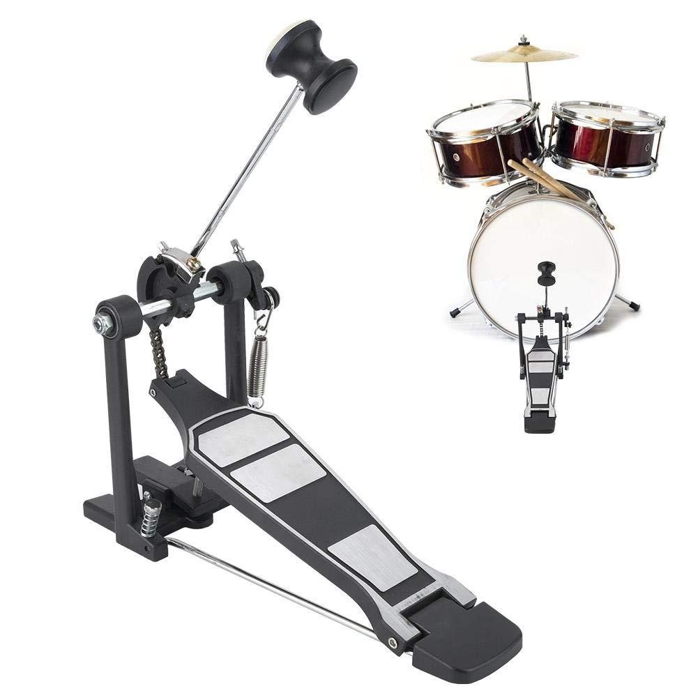 Pedal de pie simple Pedal de tambor de resorte simple Pedal de bombo pedal de bombo para bombo: Amazon.es: Instrumentos musicales