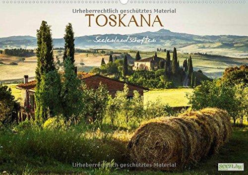 Toskana • Seelenlandschaften (Wandkalender 2015 DIN A2 quer): Landschaftsbilder der Toskana (Monatskalender, 14 Seiten)