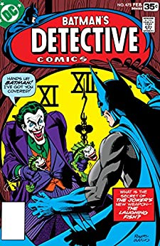 Detective Comics (1937-2011) #475 by [Steve Englehart, Marshall Rogers, Terry Austin, Jerry Serpe]