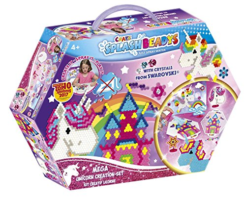 Craze 58498 - Splash Beadys, Unicorn, Creation Set