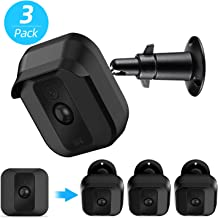 Blink XT2 XT Camera Wall Mount Bracket, Upgraded Mental Weather Proof 360 Degree Protective Cover for Blink XT XT2 Home Security Camera, Indoor/Outdoor Adjustable Mount (Black(3 Pack))