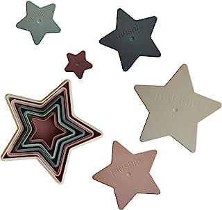 mushie Nesting Stars Toy | Made in Denmark (Original)