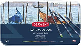 Derwent Watercolour Pencils Tin 72