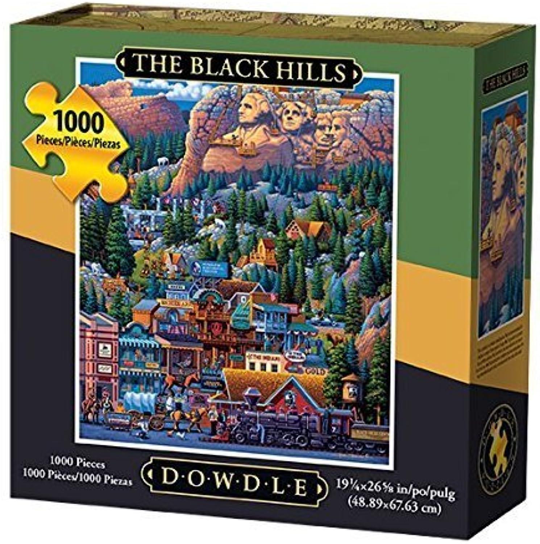 Dowdle Folk Art The Black Hills Jigsaw Puzzle, 500 Pieces by Dowdle Folk Art