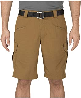 5.11 Tactical Men's Stryke 11-Inch Inseam Military Shorts, Flex-Tac Ripstop Fabric, Style 73327