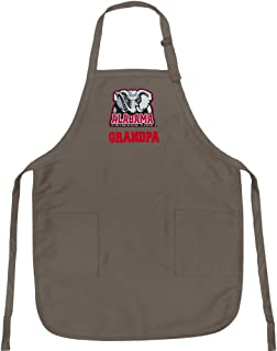 Broad Bay Alabama Grandpa Apron Best University of Alabama Grandpa Logo Gift for Man Him