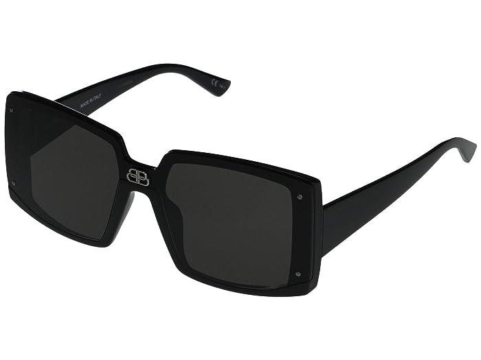 Balenciaga  BB0081S (Black) Fashion Sunglasses