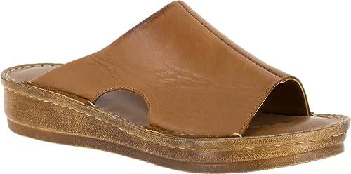 Bella Vita Mae- Large Cuir Sandale Sandale  meilleur service