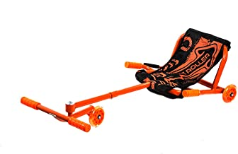 ويف رولر سكوتر ارضي  ثلاثي العجلات بكرسي قماش - برتقالي