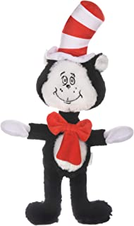 Dr. Seuss Cat in The Hat Figure Plush Dog Toy | Dog Toys, 9 Inch Dog Toy The Cat from The Cat in The Hat | Red, White, and...