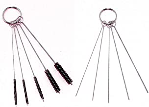 Ediyworld 2 Set Cleaning Brush Kit for Iwata Badger Paasche Master Airbrush Spray Gun