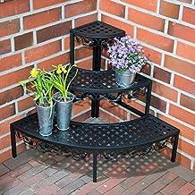 Pflanzentreppe 95x25x96cm Pflanzenregal 6 Ebenen Blumentreppe Blumenst/änder f/ür Balkon Wohzimmer Garten Outdoor DREAMADE Blumenregal aus Holz