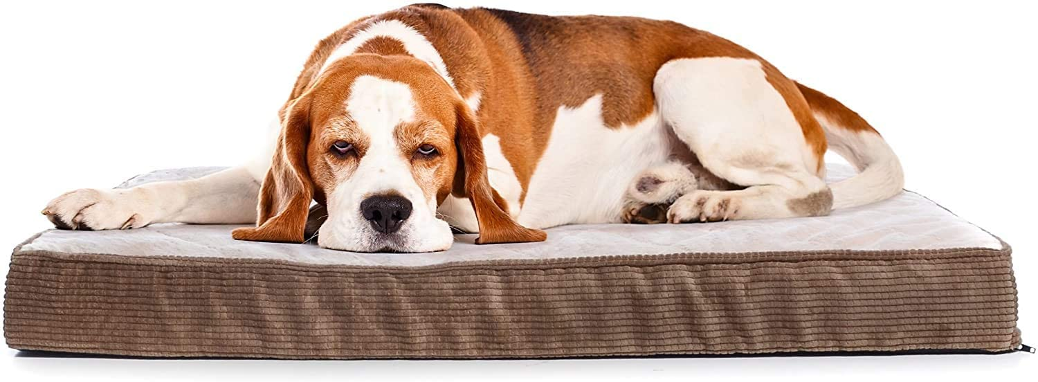 Milliard Quilted Padded Orthopedic Attention brand Dog Bed ! Super beauty product restock quality top! with Crate Foam Egg