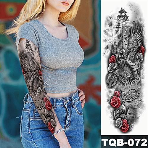 Modeganqing 3 Piezas Corazón Rosa Etiqueta engomada del Tatuaje ...