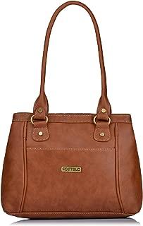 Fostelo Women's Hynes Handbag (Tan) (FSB-1068)