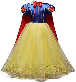 Baby Girl Snow White Princess Dress Up for Halloween Christmas Costumes
