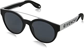 Sunglasses Givenchy GV 7017 /N/S 080S Black White/Ir Gray Blue