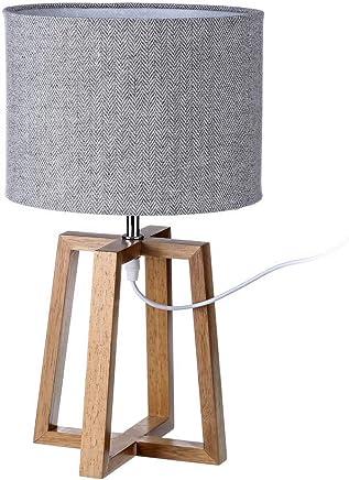 Amazon.es: lamparas sobremesa - Madera / Iluminación de ...