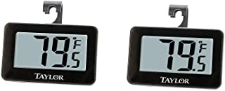 Taylor Precision Products Digital Refrigerator/Freezer Thermometer (2)