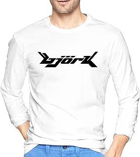 Long Sleeve Man T Shirt 2016 With Bjork Logo O Neck