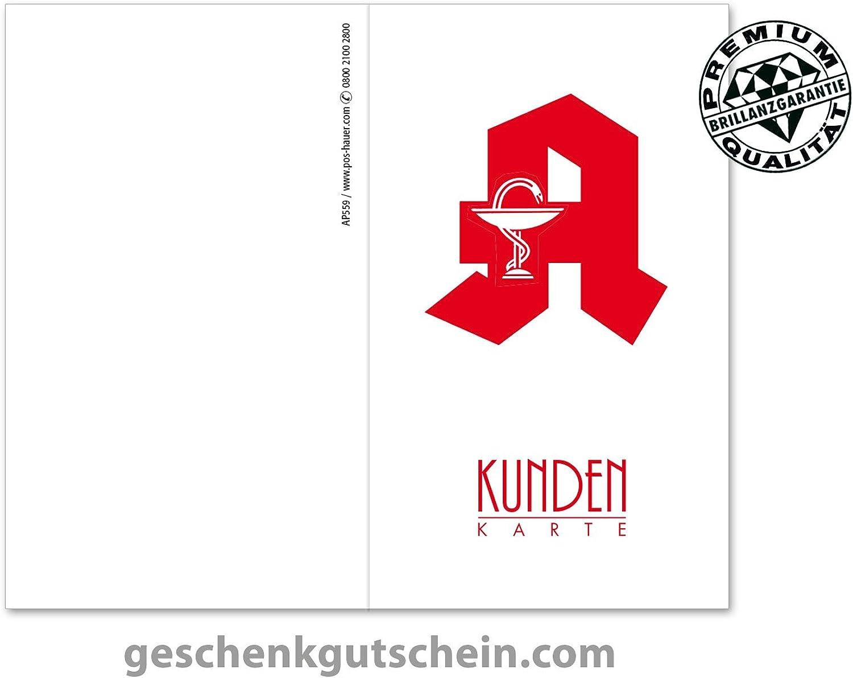 200 Stk. Kundenkarten für deutsche Apotheken AP559 B06XGDMWJG   Sale Deutschland