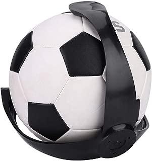 ボール壁置き 壁掛け ボールホルダー ボール収納 多用途 業務用 立体陳列 装飾 フットボール/バレーボール/バスケットボールに対応 ボールスタンドサポート ブラック