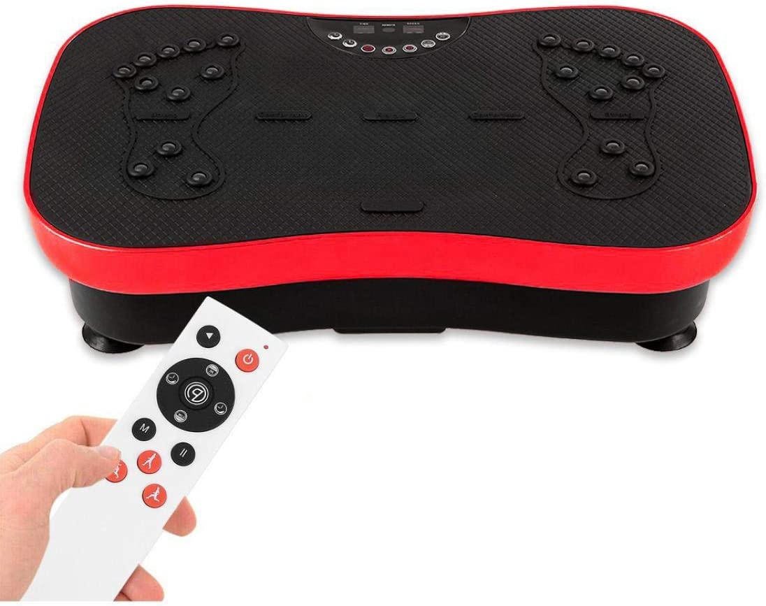 Vibration Plate Exercise Machine security Special price for a limited time Full Body Workout Fitness Plat
