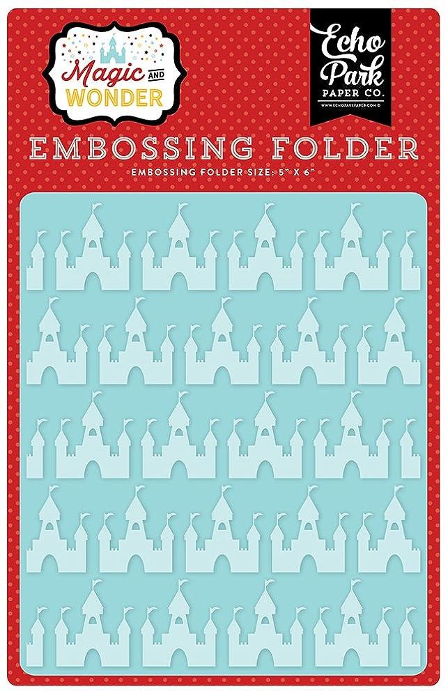 Echo Park Paper Company Magical Castles Embossing Folder