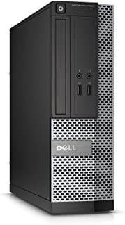 Dell OptiPlex 3010 Small Form Factor PC, Intel Core i5-3470 3.20GHz, 4GB DDR3 RAM, 500GB HDD, Win-7 Pro x64 (Renewed)