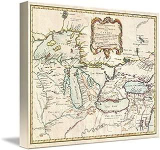 great lakes map art