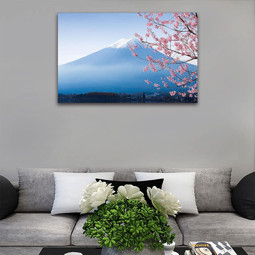 Landscape Japan Decor Self-Adhesive Fuji Mountain Max 51% Max 89% OFF OFF Sticker Wall