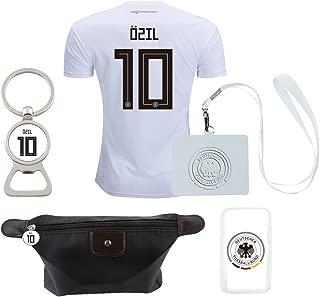 EE bestort Germany #10 Ozil 2018 Home Mens Soccer Jersey Color White (Large)