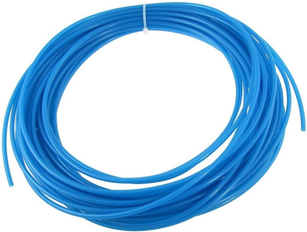 1 year warranty YXQ 15M 4mm x 2.5mm ID Air Blue Sti Tubing Max 56% OFF Hose Polyurethane PU