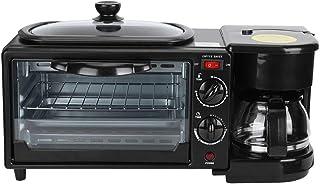 3 en 1 Machine à Petit-déjeuner, Four Micro-Ondes, combiné, Mini Four électrique, Grille pour rôtis, Grille-Pain, gâteau, ...