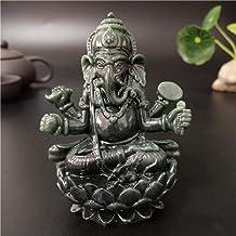 Statue Ornaments 3 Colors Lord Ganesha Buddha Statue Indian Ganesh Elephant God Sculpture Figurines Home Feng Shui Decorat...