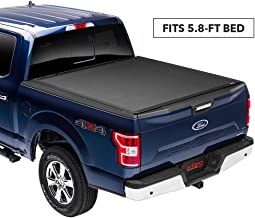 Extang Xceed Hard Folding Truck Bed Tonneau Cover | 85445 | fits Chevy/GMC Silverado/Sierra 1500 (5 ft 8 in) 2014-18, 2019 Silverado 1500 Legacy & 2019 Sierra 1500 Limited