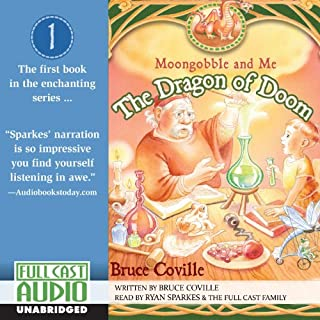 The Dragon of Doom audiobook cover art