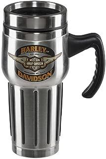Harley-Davidson Core Winged Bar & Shield Travel Mug - Stainless Steel HDX-98610