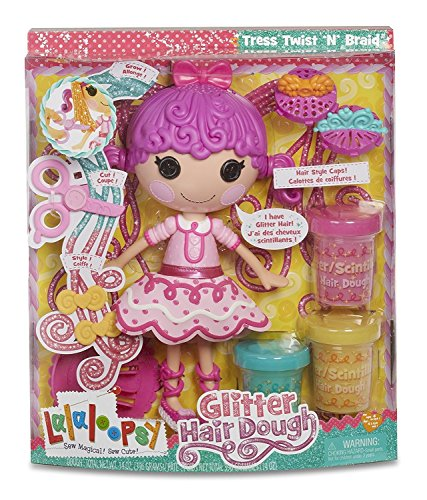 Lalaloopsy Glitter Hair-Dough Doll Toy