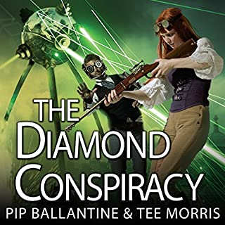 The Diamond Conspiracy     Ministry of Peculiar Occurrences, Book 4              By:                                                                                                                                 Pip Ballantine,                                                                                        Tee Morris                               Narrated by:                                                                                                                                 James Langton                      Length: 12 hrs and 44 mins     386 ratings     Overall 4.5